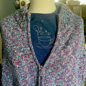 Alia Women's sweater and matching t-shirt.